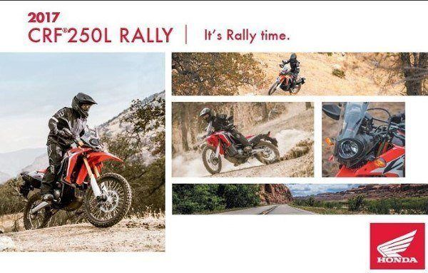 CRF250L Rally - Its Rally Time